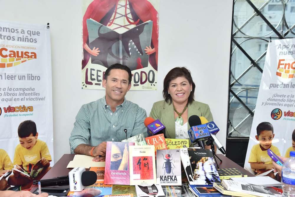 Supera la meta campaña de donación de libros a favor de EnCausa