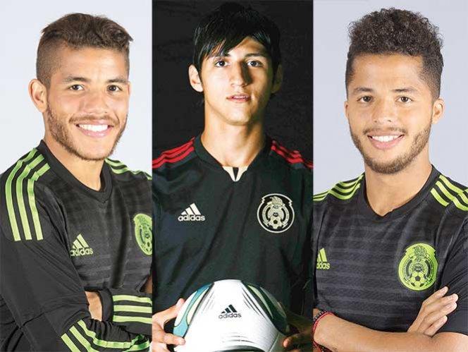 'Gio', 'Jona' y Pulido regresan al Tricolor