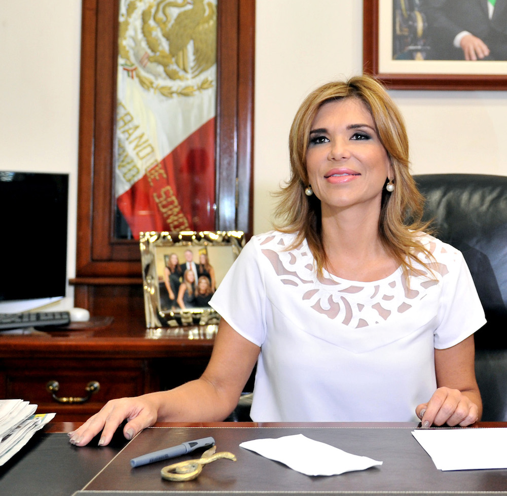 Gobernadora Pavlovich es la segunda mejor evaluada en el País