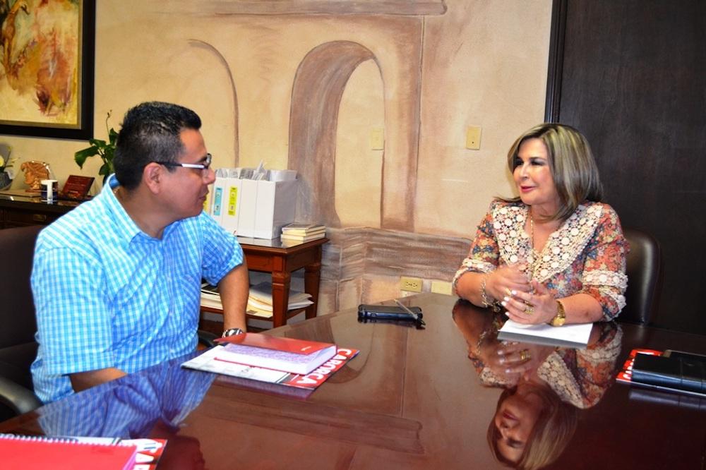 Refrenda alcaldesa Karina García lazos de colaboración con FIRA