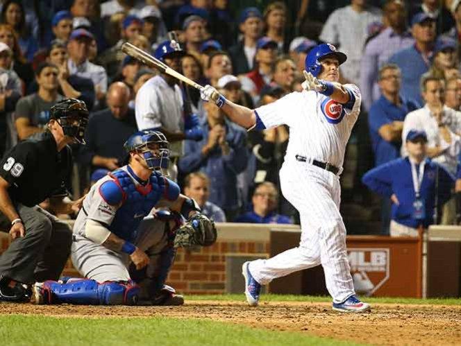 Montero le da el triunfo a Chicago sobre los Dodgers