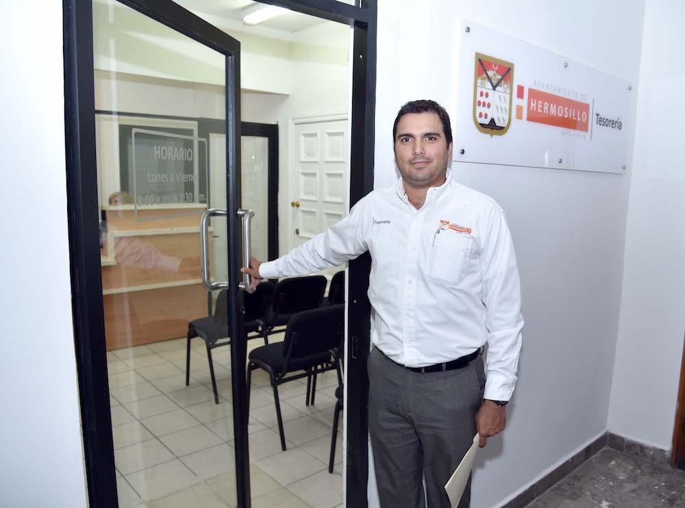 Inauguran módulo de Tesorería en Palacio Municipal