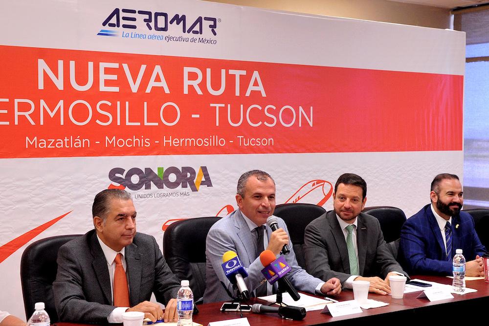Inaugura COFETUR vuelo Hermosillo – Tucson