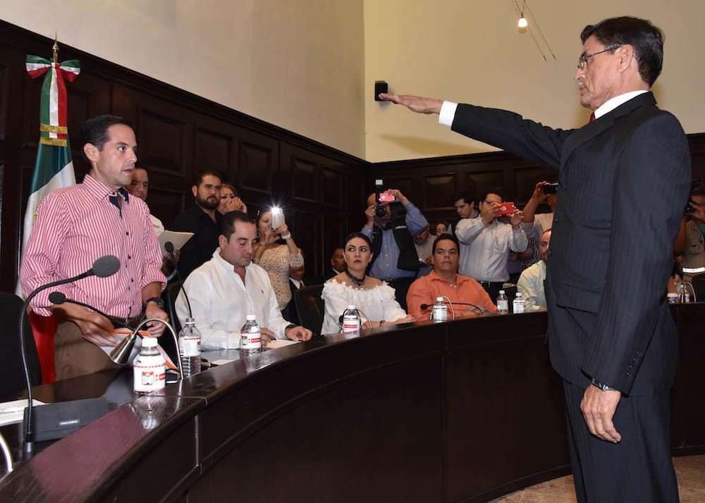 Es Fernando Beltrán nuevo Comisario de la Policía Preventiva y Tránsito Municipal