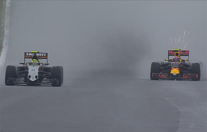 'Checo' acaricia el podio pero termina cuarto en Brasil