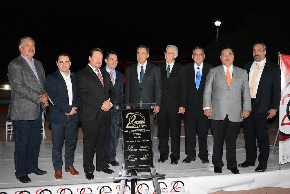 Reconoce alcalde Faustino Félix Chávez a ITESCA por su XX aniversario