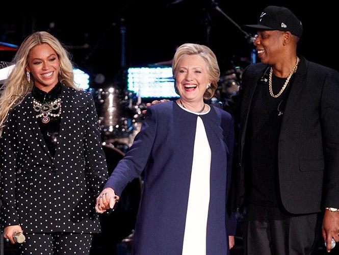 Hollywood y el pop se vuelcan con Hillary Clinton