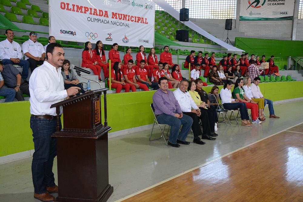 Inicia la Olimpiada Nacional y campeonato juvenil 2017 en su etapa municipal