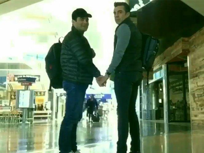 Omar Chaparro y Adrián Uribe se burlan del América