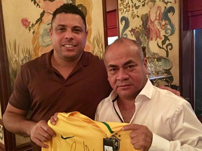 Ronaldo abrirá academia de futbol en México