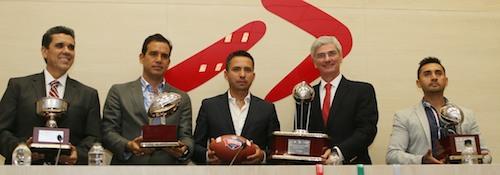 Presentan etapas nacionales del Torneo Tochito Bandera CONADE-NFL