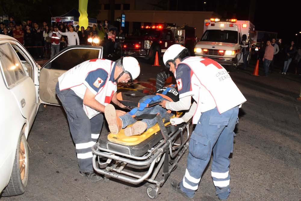15 lesionados y una persona fallecida ¡Es impericia más velocidad!