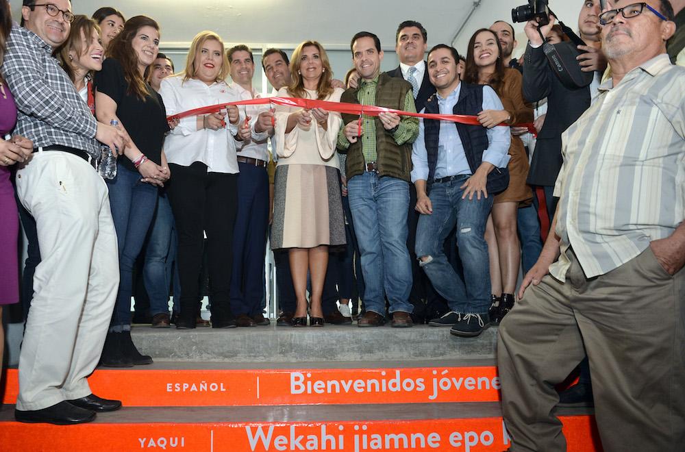 Inaugura Gobernadora Pavlovich la nueva Casa de la Juventud