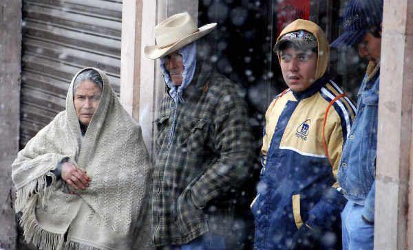 Nuevo frente frio sobre Sonora