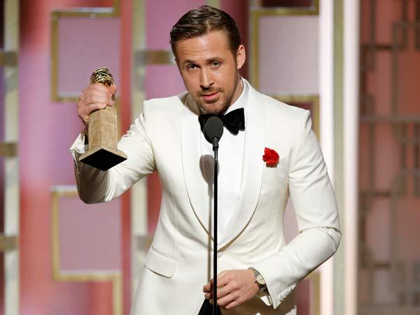 'La La Land' arrasa en los Globos de Oro; gana 7 de 7