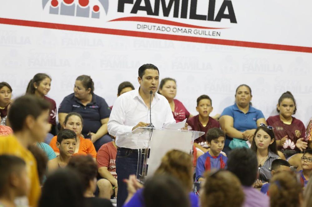 Tenemos que trabajar por lo que la gente necesita para vivir mejor: Omar Guillén