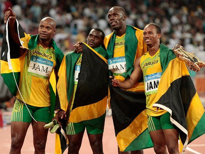 Despojan a Bolt de medalla de oro de Beijing 2008