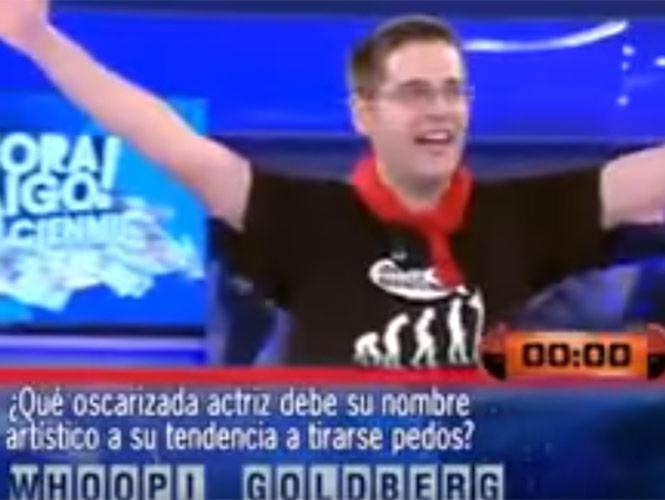 Pierde 100 mil euros por pronunciar mal Whoopi Goldberg