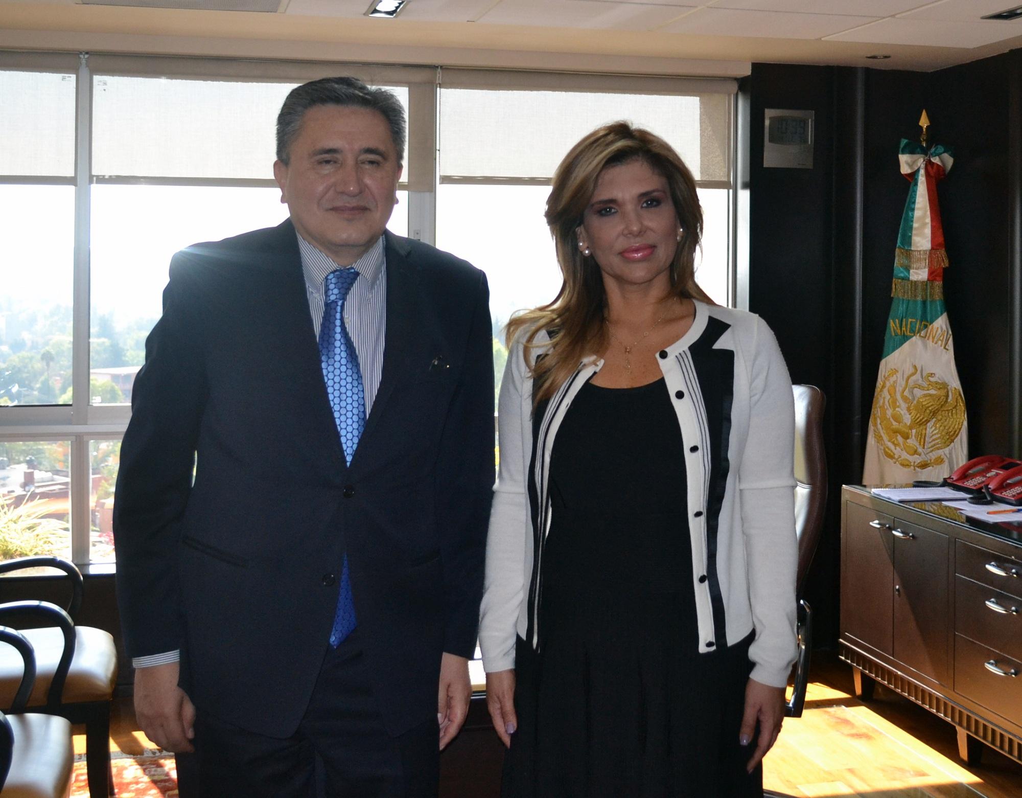 Refrendan Gobernadora Pavlovich y Presidente de la CNDH trabajo conjunto a favor de sonorenses