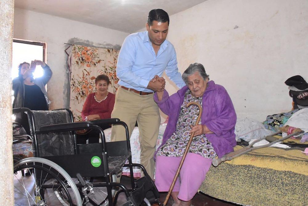 Las familias necesitadas de Cajeme no están solas: Omar Guillén