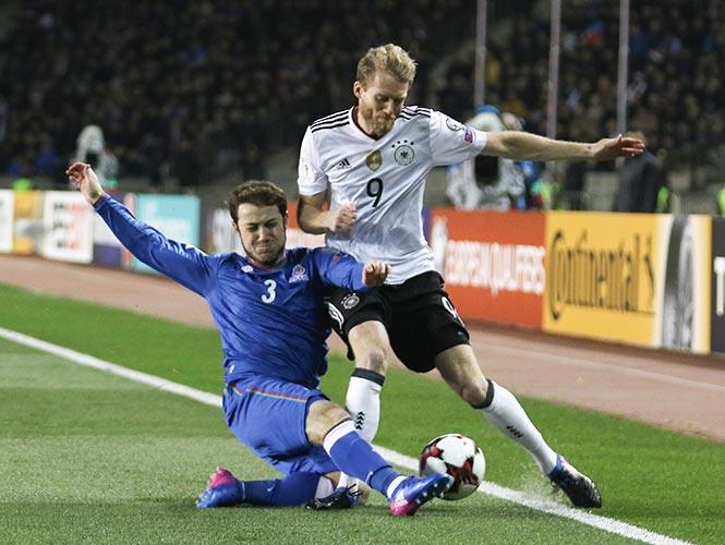 Alemania continúa con paso arrasador rumbo a Rusia 2018