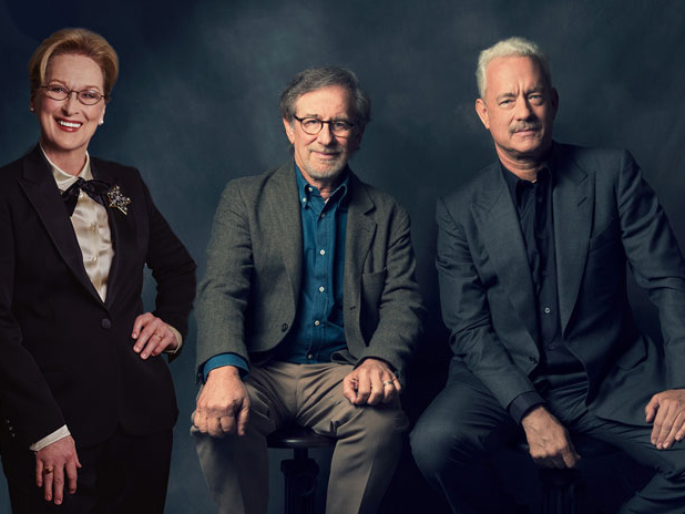Spielberg, Meryl Streep y Tom Hanks planean filme