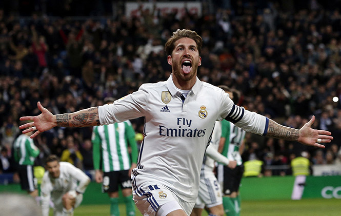 Sergio Ramos le da otra victoria agónica al Real Madrid