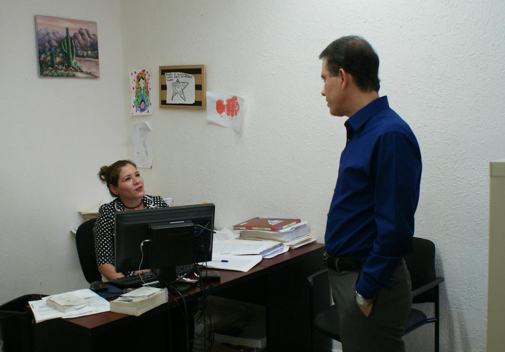 Visita Procurador las instalaciones de la Agencia del Ministerio Público del Sector I y II