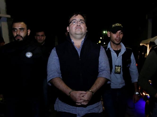 Pasa Duarte su primera semana en cárcel de Guatemala