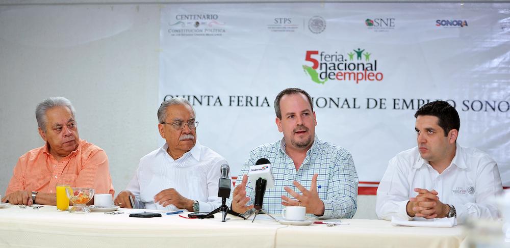 Anuncia Secretaría del Trabajo Quinta Feria Nacional del Empleo