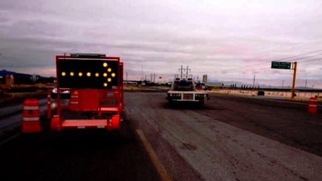 Negligencia y abuso del constructor de la carretera Janos a Agua Prieta. Es una vergüenza