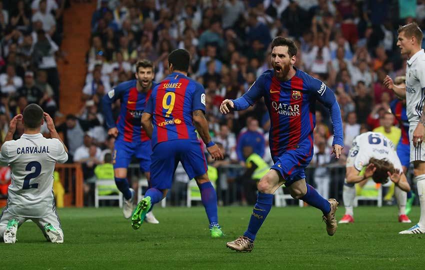 Messi calla al Bernabéu con doblete