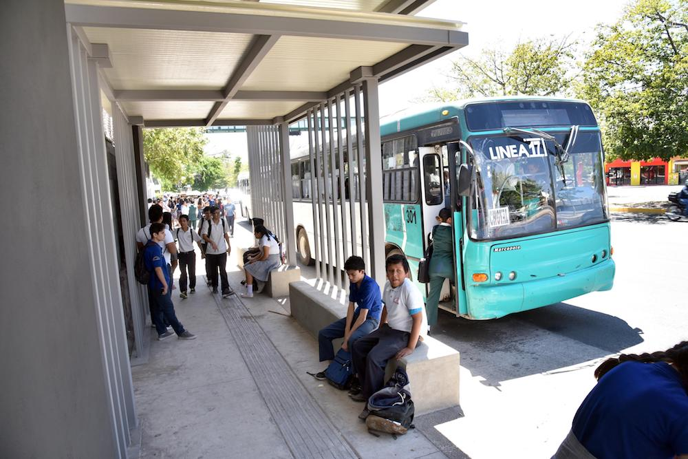 Circulan menos unidades de transporte público en Semana Santa