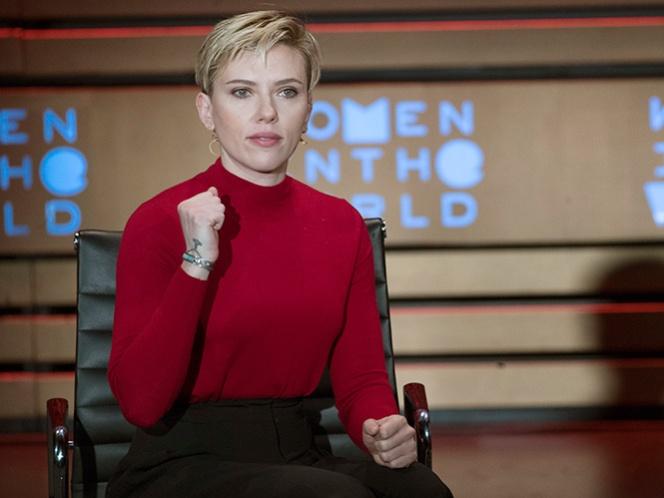 Scarlett Johansson no descarta postularse a un cargo político