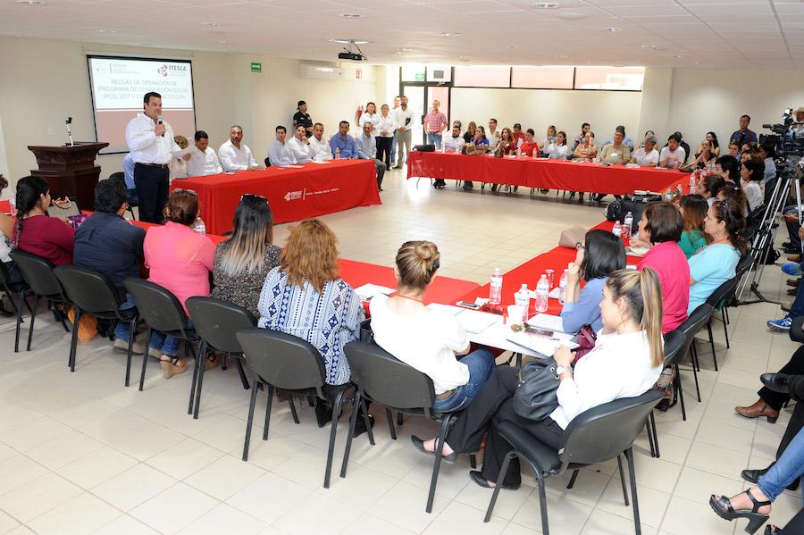 Logra Gobernadora Pavlovich más presupuesto para coinversión social: Díaz Brown