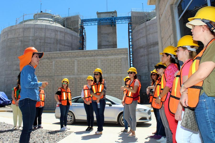Visita Voluntariado de DIF Planta Tratadora de Aguas Residuales