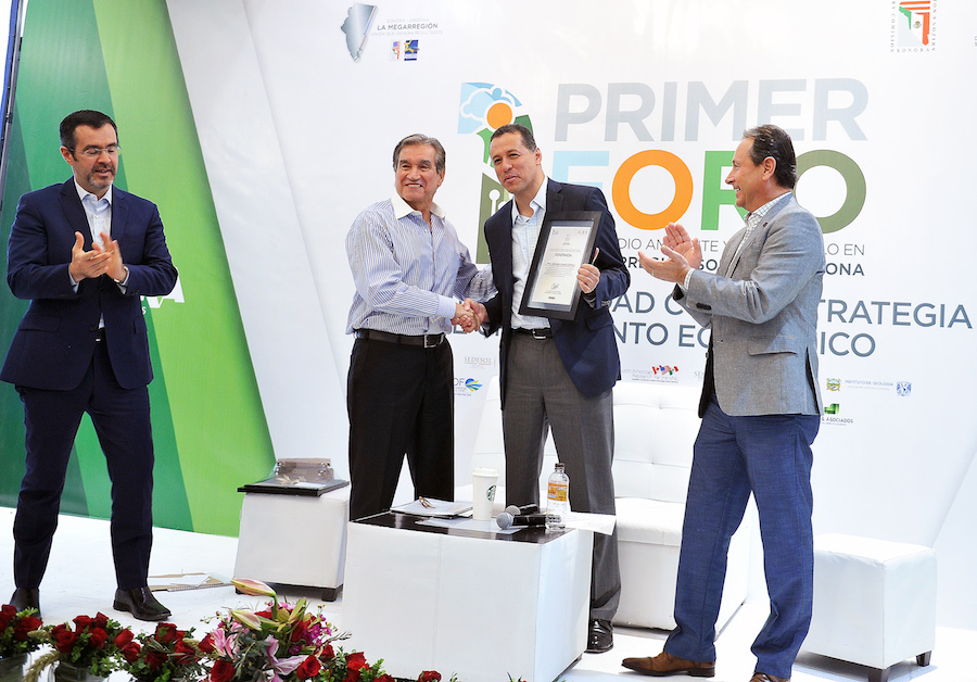 En Sonora se impulsa el desarrollo sostenible y sustentable: Jorge Vidal Ahumada