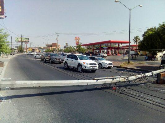 La imprudencia de un conductor desató un caos en las Granjas