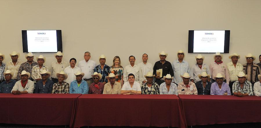 Invierte Gobierno del Estado más de 55 millones de pesos en pueblos Yaquis