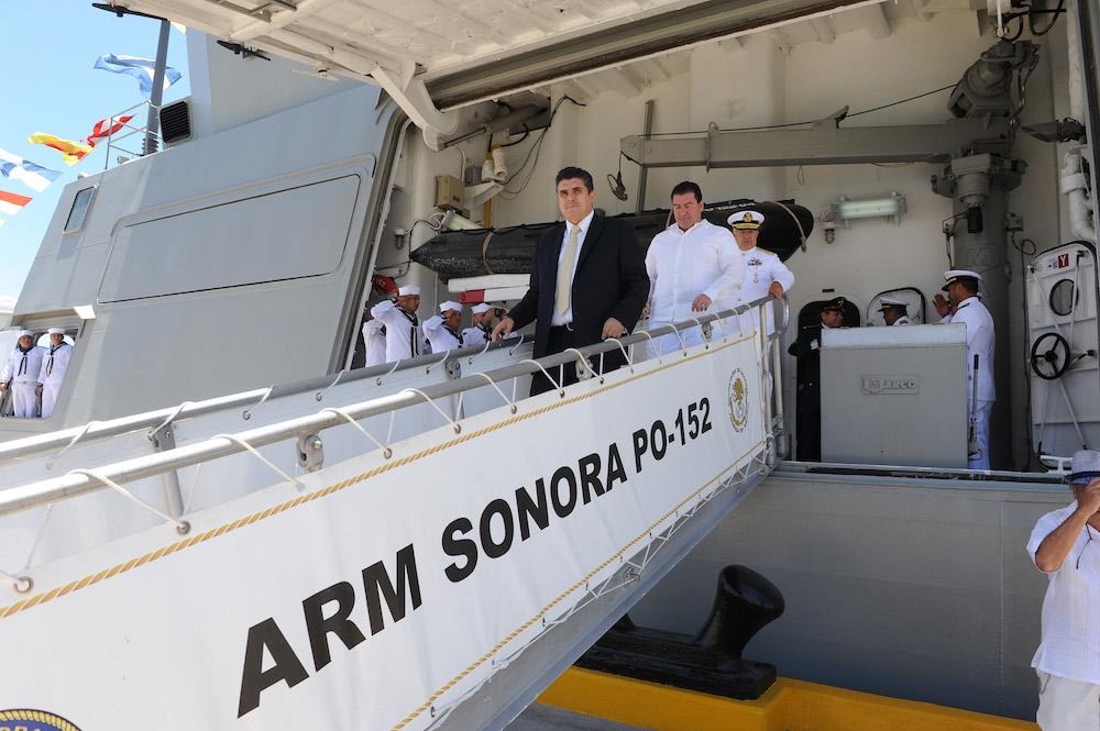 Preside Secretario de Gobierno celebración del Centenario de Nacionalización de la Marina Nacional