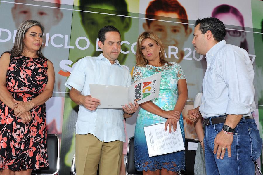 Es Sonora referente de educación en el país: Gobernadora Pavlovich
