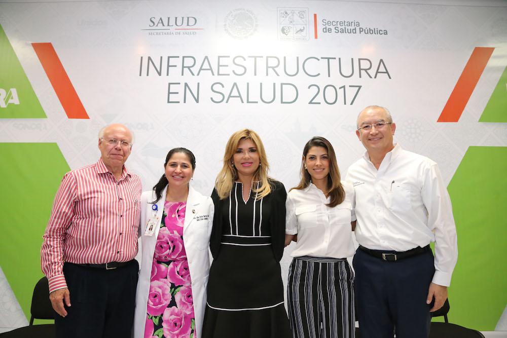 Muestra Gobernadora Pavlovich a José Narro avance en servicios médicos