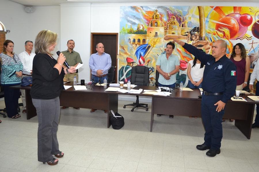 Nombra Cabildo de Caborca a Moisés Ramos Comisario General de Seguridad Pública