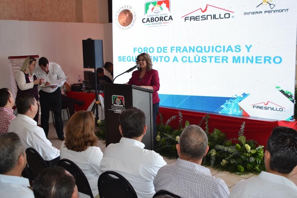 Caborca, apto para la inversión: Karina García