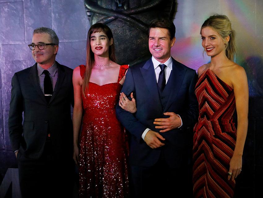 Tom Cruise se deja querer en México