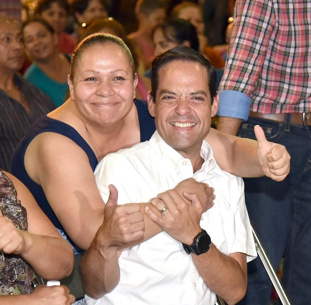 Anuncia Maloro Acosta inversión de casi 4.5 millones de pesos en la colonia La Caridad