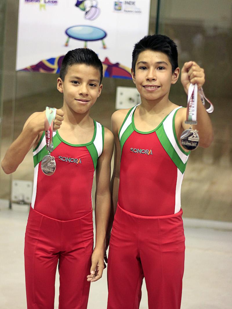 Aporta gimnasia trampolín nueve medallas nacionales