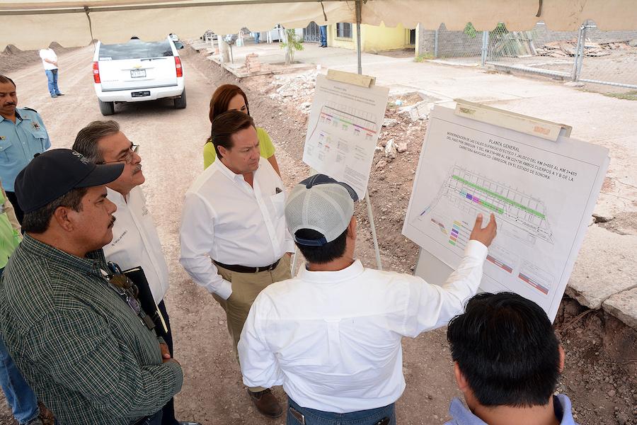 Supervisa SCT trabajos de modernización en Cajeme