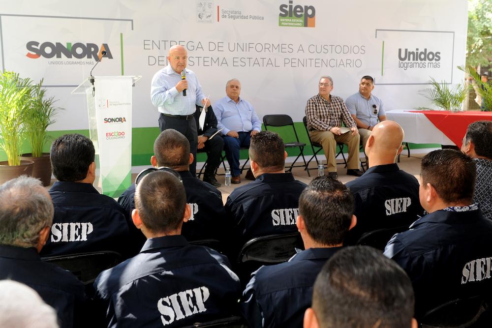 Fortalece SSP labor de custodios en CERESOS