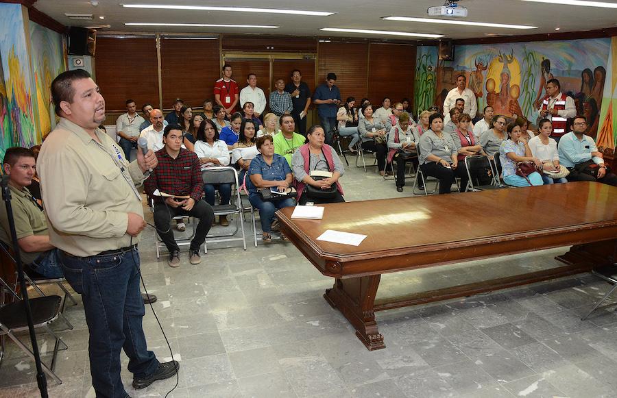Capacitan a personal del Ayuntamiento de Cajeme en temas prioritarios de Salud